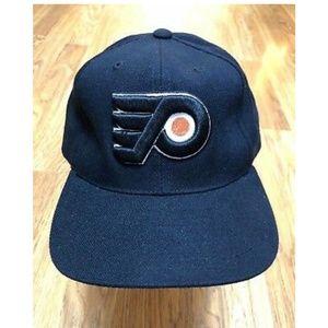 Other - Flyers Hockey Ball Cap Hat Black Snapback